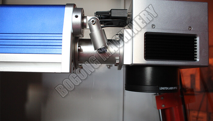 fiber laser marking machine with cabinet