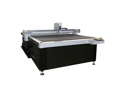 China Jinan Bogong CNC Oscillating Tangential Knife Cutting Machine Plotter With Textile Fabric Cloth Machine